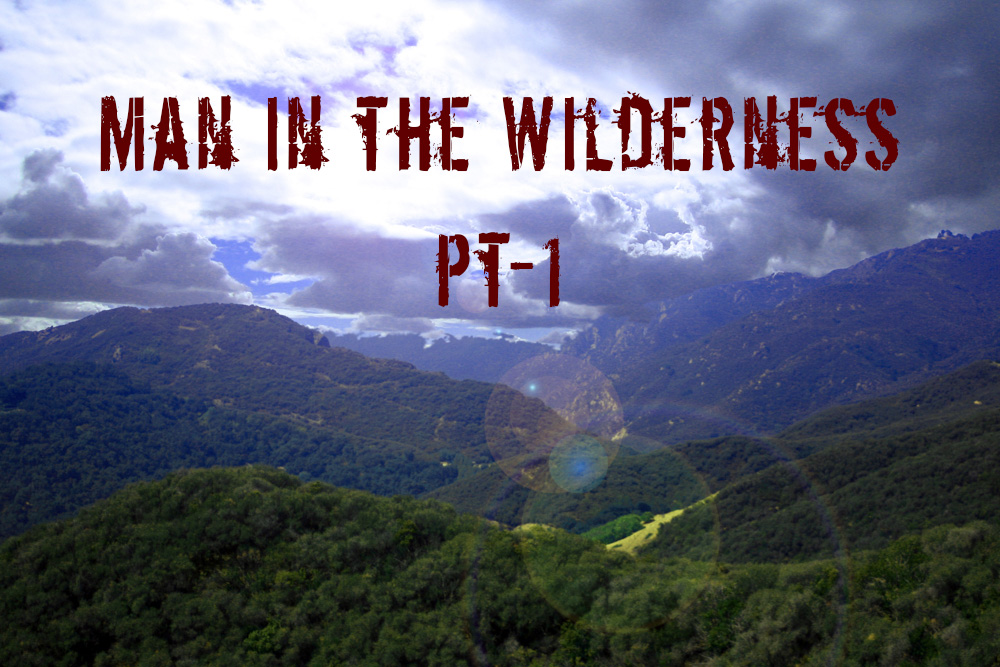 Man In In The Wilderness Pt 1 Rogue Survivor