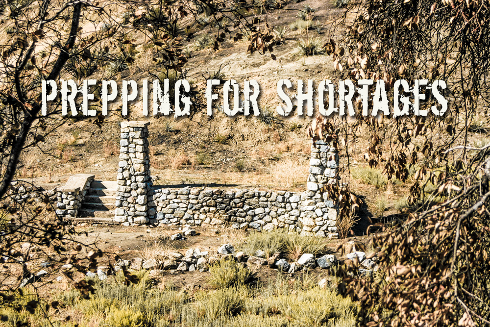 Prepping For Shortages – Supplies and Food