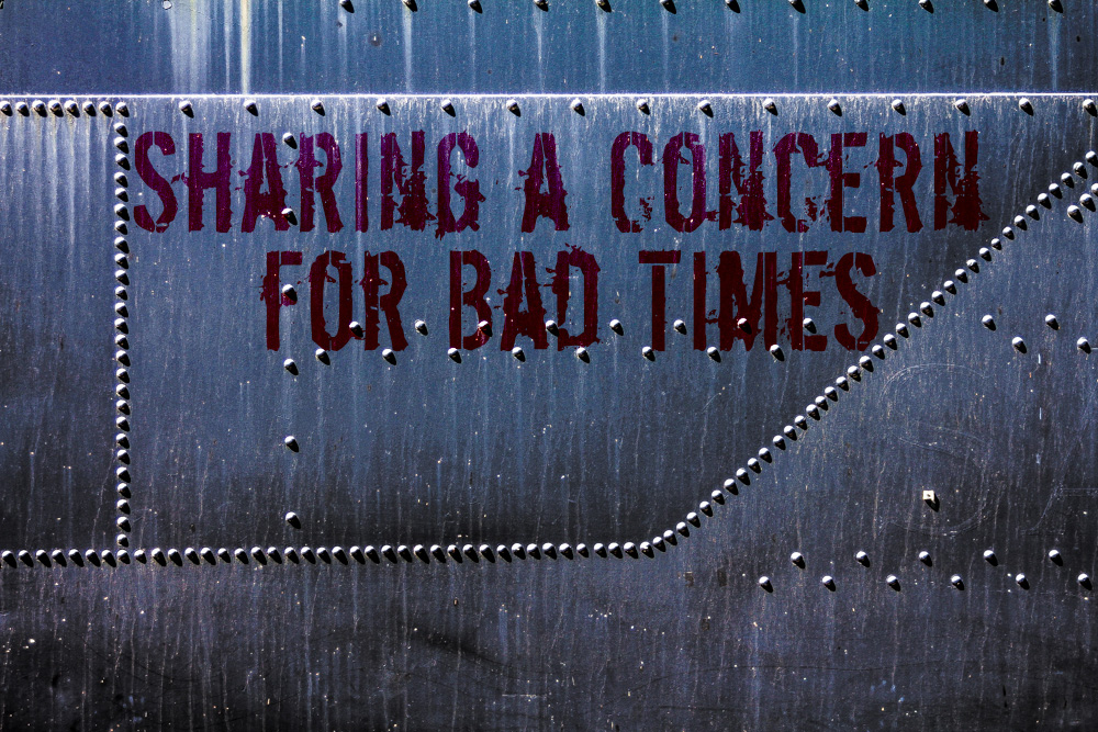 Sharing a Concern for Bad Times