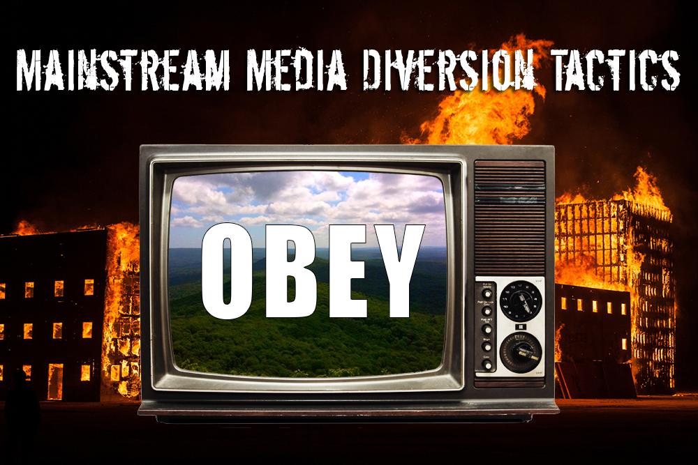 Mainstream Media Using Diversionary Tactics