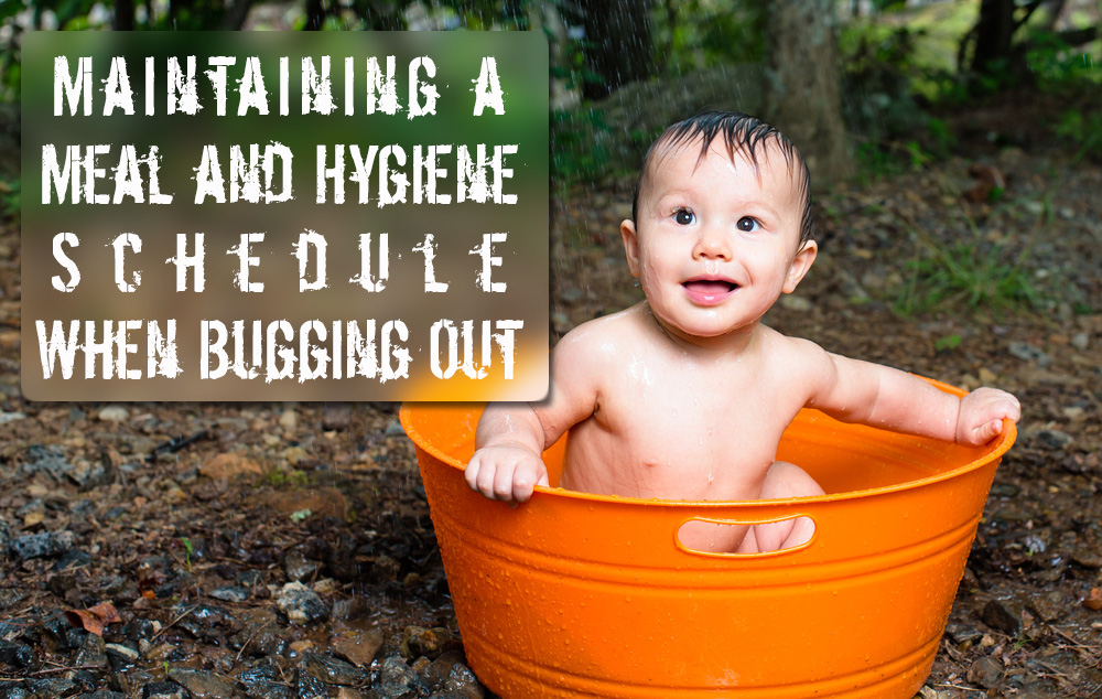 Maintaining a Meal and Hygiene Schedule When Bugging Out or Stealth Camping