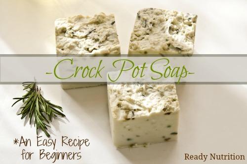 Crock Pot Soap – An Easy Recipe For Beginners
