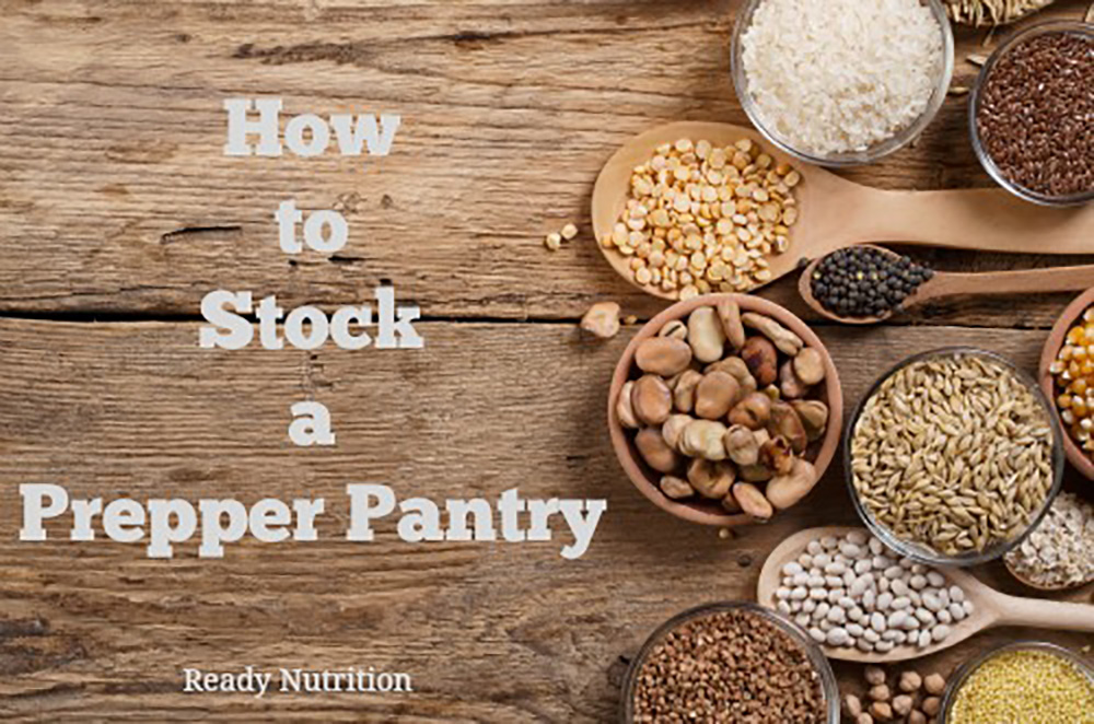 How to Stock a Prepper Pantry