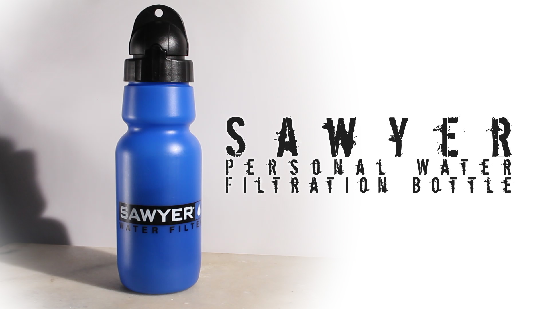 Sawyer Personal Water Filtration Bottle   Review