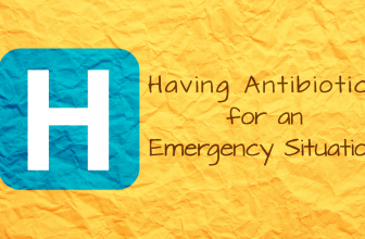 Having Antibiotics for an Emergency Situation