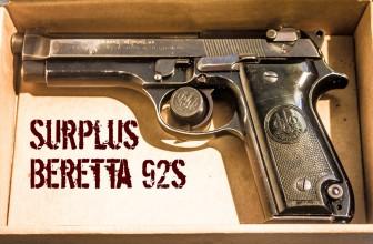 Prepper Bargain Alert: Surplus Beretta 92s